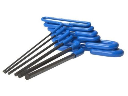 """Eklind T Handle 6/"""" Long Hex Allen Key Set of 6 Metric 2mm 6mm REK55166"""
