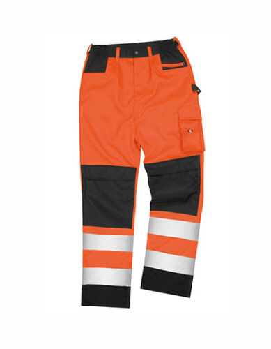 Result Sicherheit Hose Trousers Arbeit Beruf Neon XS S M L XL 2XL 3XL 4XL NEU