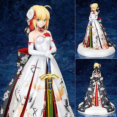 LED Figure No Box Anime Fate//Stay Night Saber Altria Pendragon Kimono Dress Ver