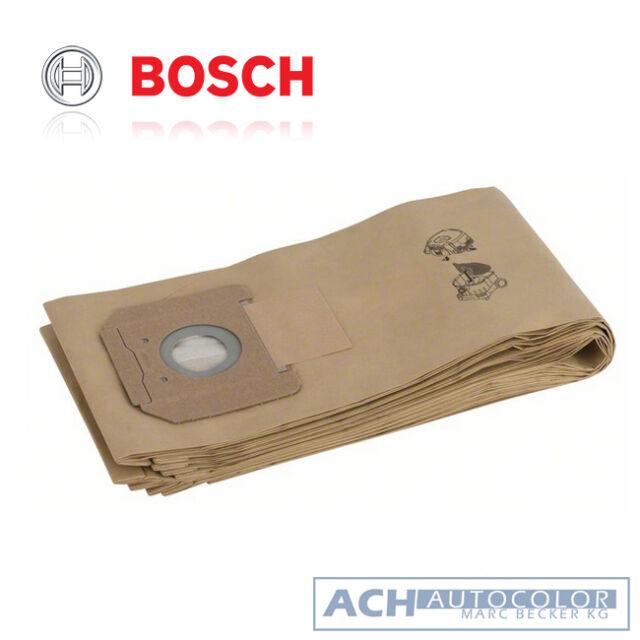 Bosch 5 x Papierfiltertüten für GAS 55 - Trockensaugen - 2607432036