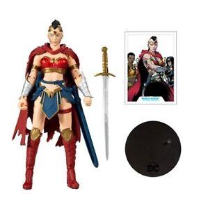 DC Multiverse Wonder Woman Last Knight on Earth Collector No Bane BAF Loose