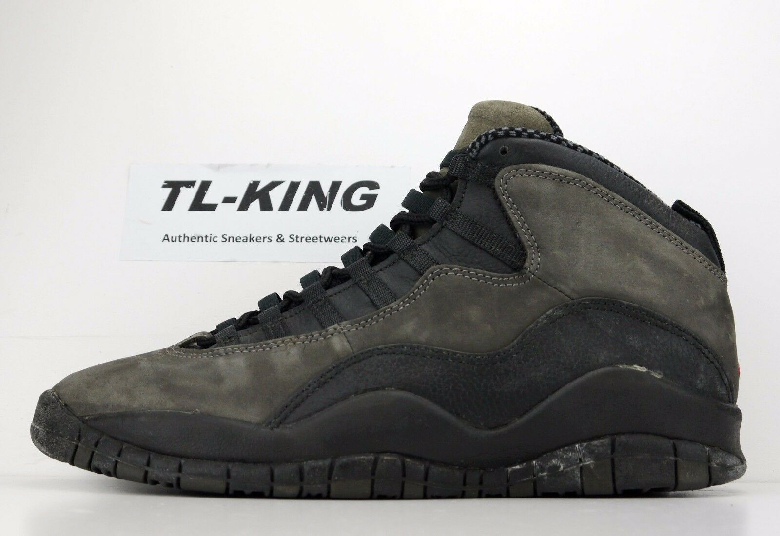 OG Vintage Nike Air Jordan 10 Shadow Left Shoe Only sz 10.5