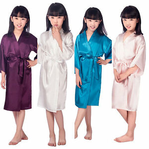 Image is loading USA-Party-Robes-For-Girls-Flower-Girl-Wedding- 3d55b08b2