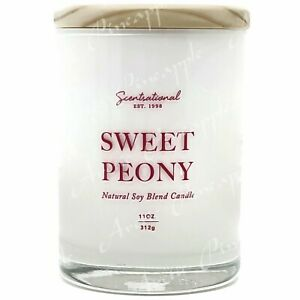 Scentsational-Natural-Soy-Blend-11oz-1-Wick-Medium-Candle-Sweet-Peony
