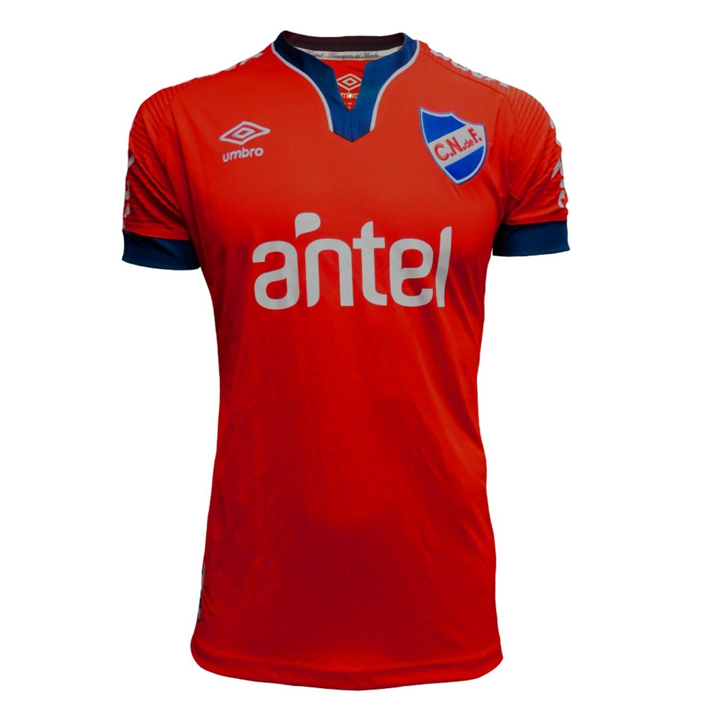 CLUB NACIONAL DE FOOTBALL  CAMISETA ROJA UMBRO 2019   rosso AWAY  URUGUAY