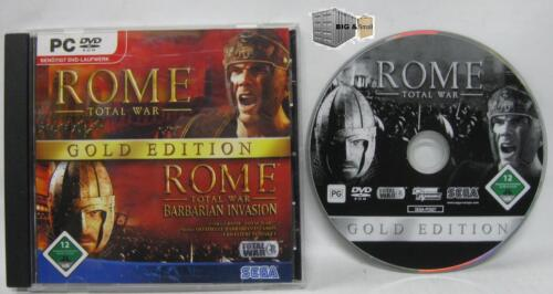 1 von 1 - Total War: Rome - Gold Edition (PC Game) inkl. Barbarian Invasion - KULT