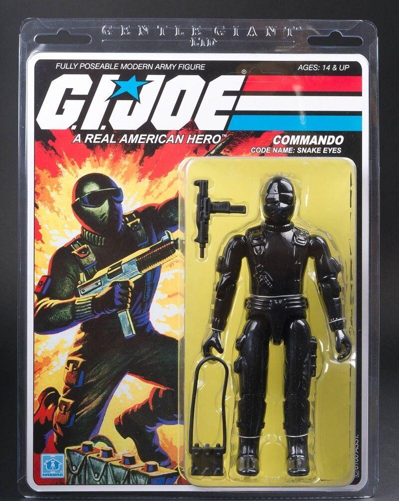 Gi Joe Snake-Eyes Jumbo Action Figure By Gentle Giant