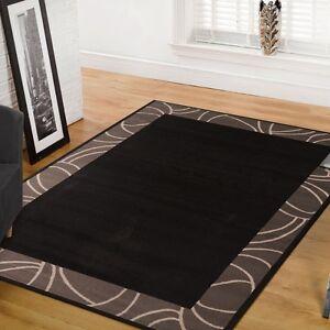 Brown-Floor-Rug-330x240cm-Large-Modern-Carpet-Mat-1349-Free-Delivery