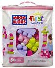60 Pcs Mega Bloks Pink Buildable Bag DCH54