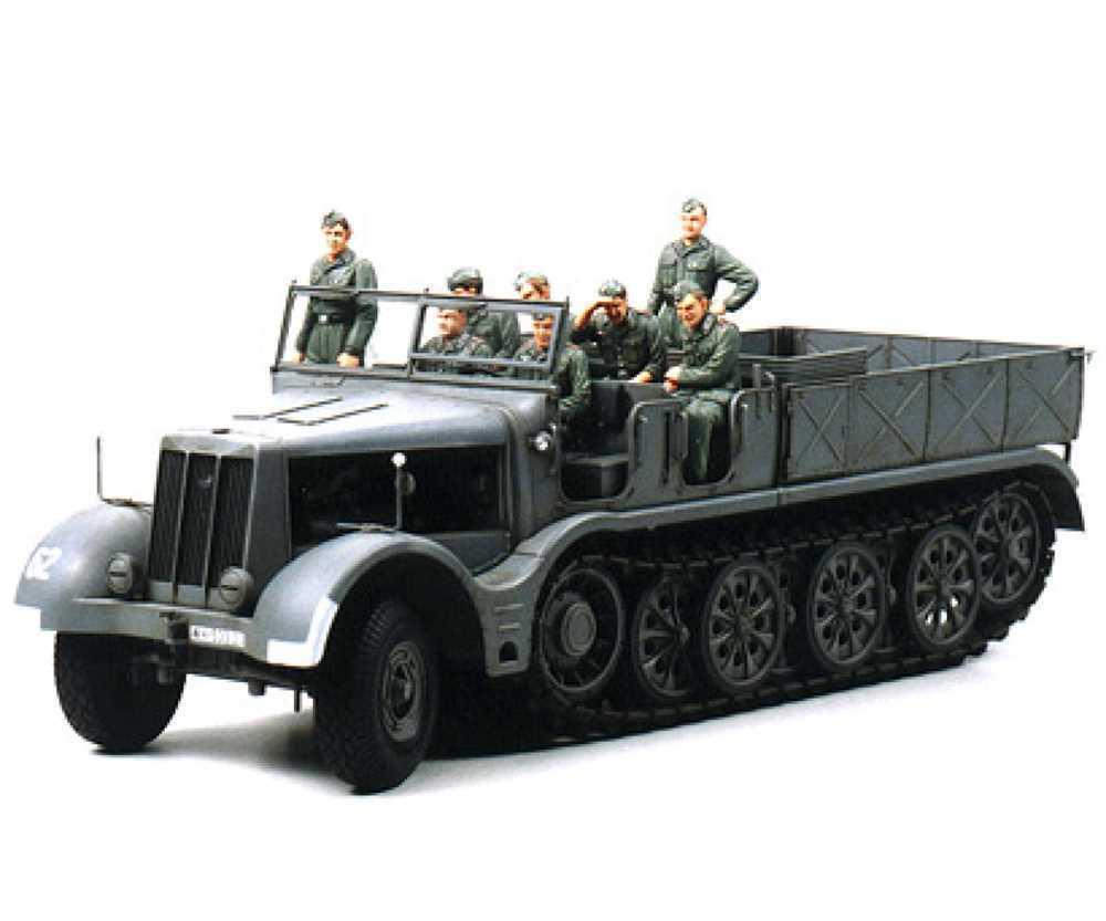 Tamiya 1 35 WWII SdKfz.9 Famo Famo Famo 18to Halbkette(8)  | Klein und fein  15fd35