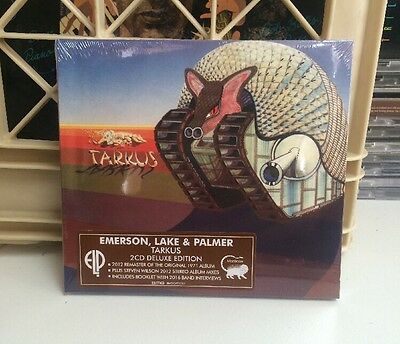 Emerson, Lake and Palmer - Tarkus 2CD Deluxe Edition New Sealed