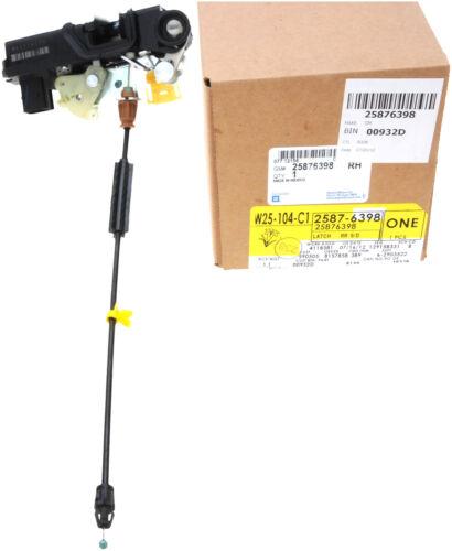 GM OEM Rear Door-Lock Actuator Motor 25876398