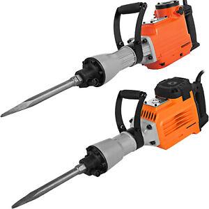 3500W Electric Demolition Hammer Breaker Jack Drill Concrete Hammer Power Tool