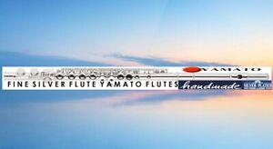 Yama Flauto Traverso Argento Flauto Traversiere Flauta Plata Flauti Flauto Flûte