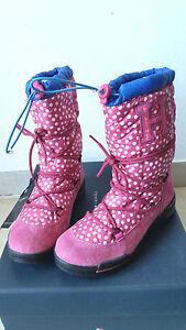 stivale-destro-sci-neve-TOMMY-HILFIGER-donna-ragazza-35-2-5-NEW-scarpe-boot-cald