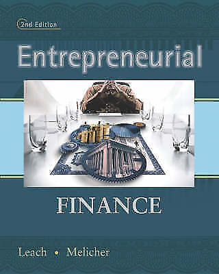 Entrepreneurial Finance by Leach, Chris