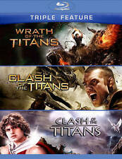 Wrath of the Titans/Clash of the Titans /Clash of the Titans/ Blu ray NEW