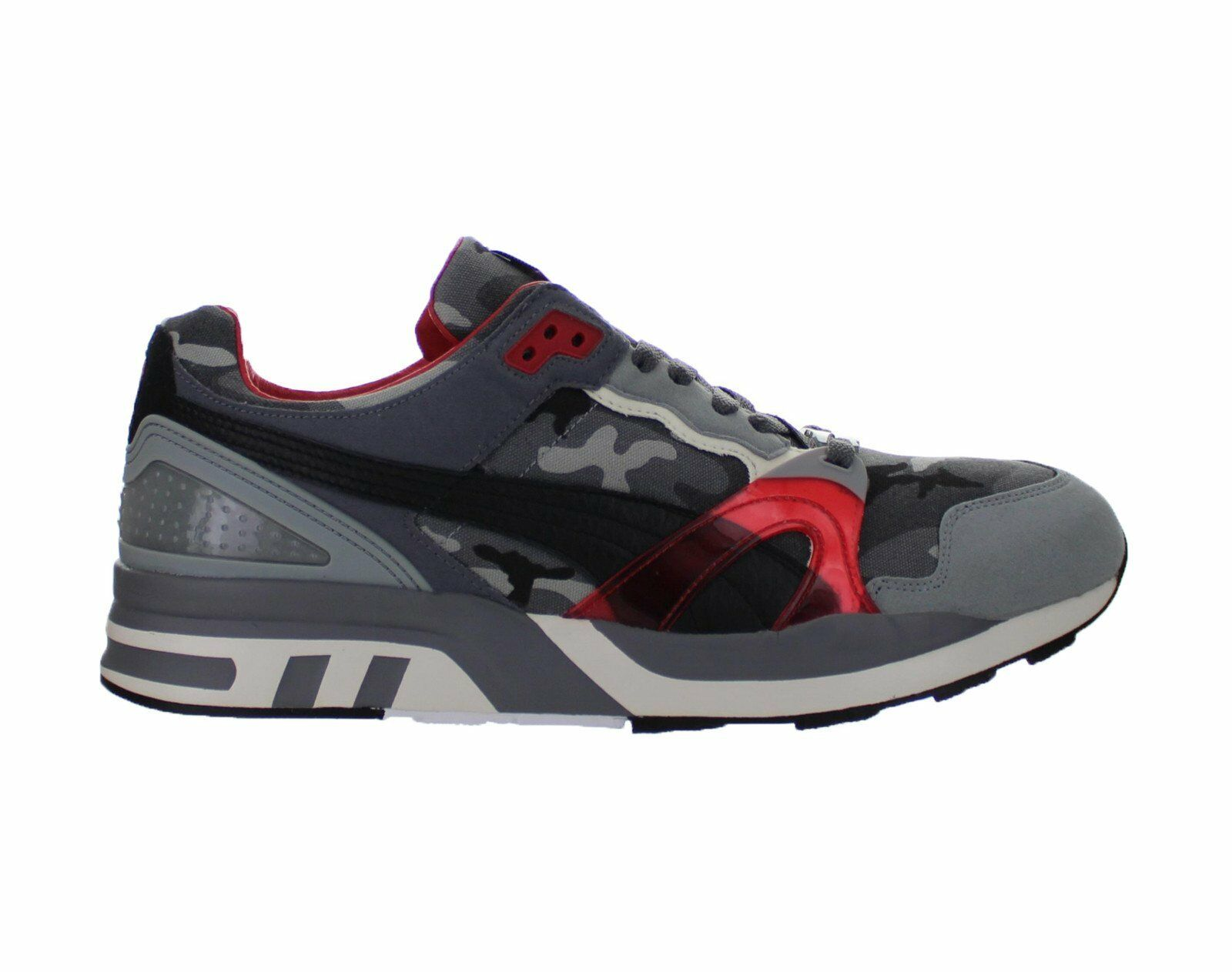 hommes Puma Trinomic XT2 Plus Homegrown Steel gris Rosso Corsa 358405-01