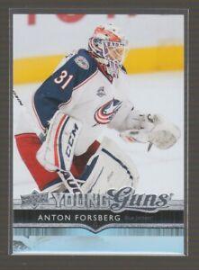 (76150) 2014-15 UPPER DECK YOUNG GUNS ANTON FORSBERG #486 RC