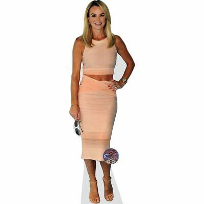 Beige Dress lifesize Standee. Cardboard Cutout Amanda Holden