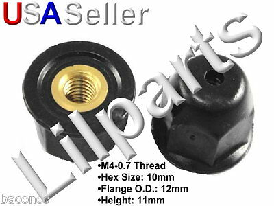 Acura Honda 75307-SN7-000 Moulding Nut With Brass Insert M4-0.7 75307-sn7-000