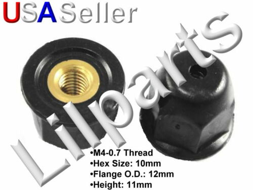 Acura Honda 75307-SN7-000 Moulding Nut With Brass Insert M4-0.7 75307-sn7-000