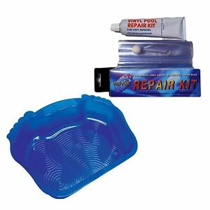 Lazy Inflatable Spa Swimming Pool Repair Kit And Foot Bath