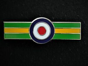111 Sqn Royal Air Force Roundel Colours Lapel Pin