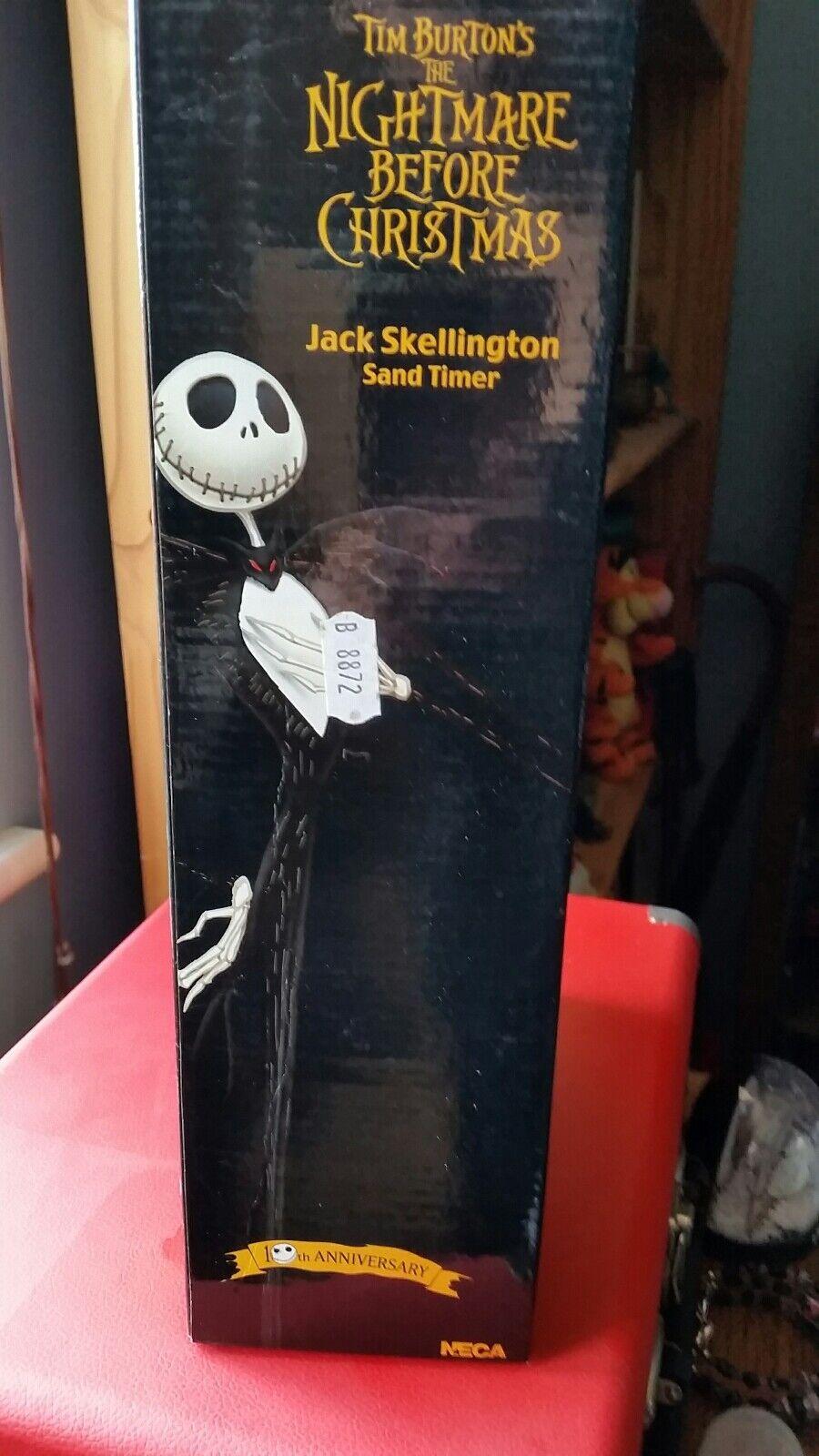 Vintage Vintage Vintage NECA10th anniversary NBX Jack skeleton sand timer cf4d01