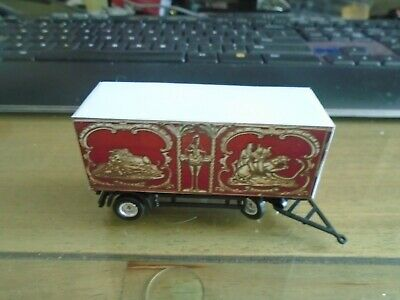 HO Scale Royal American Shows  Wild West Polar  Bear  Wagon