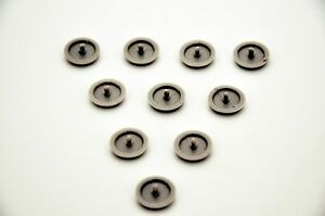 10 x KIA CARS Seat Belt Buckle Buttons Holders Studs Retainer Stopper Pin Clip