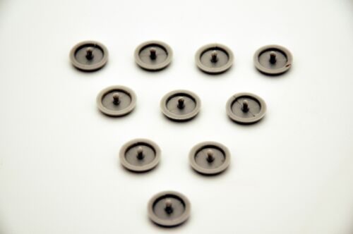 10Pcs TOYOTA Seat Belt Buckle Buttons Holders Studs Retainer Stopper Rest Pin