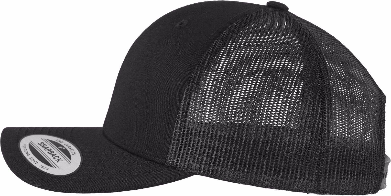 USS ENTERPRISE CVN-65 SHIP MESH TRUCKER SNAP CLOSURE CAP HAT RETRO BLACK RETRO HAT ec07b0