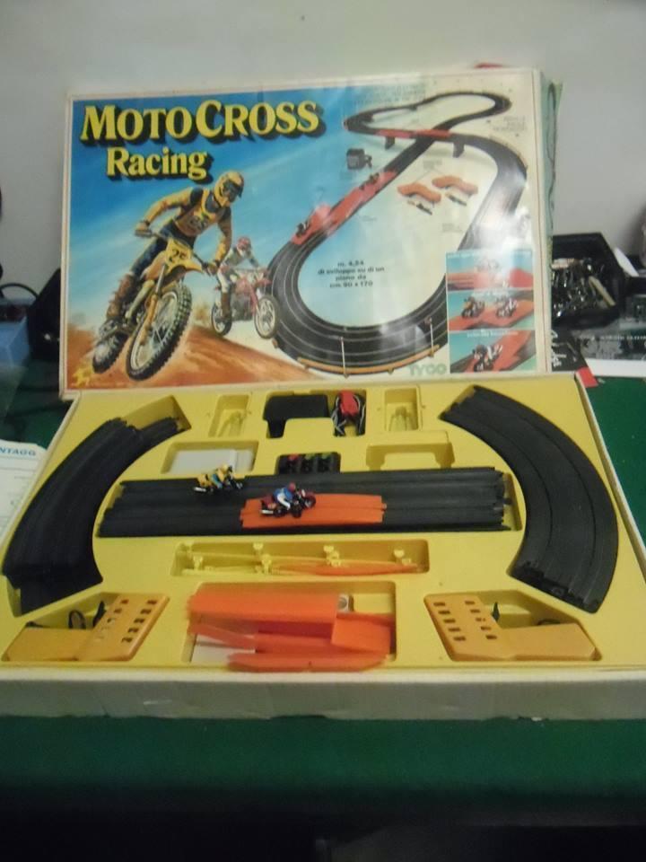 PISTA TYCO MOTOCROSS RACING ART. 86215  DEL 1986  -  RARISSIMA