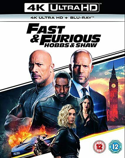 Fast And Furious Part 9 Hobbs Shaw 4k Uhd Ultra High Definition For Sale Online Ebay