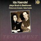 Ida Haendel plays Bruch & Beethoven (CD, Jun-1996, Testament (label))