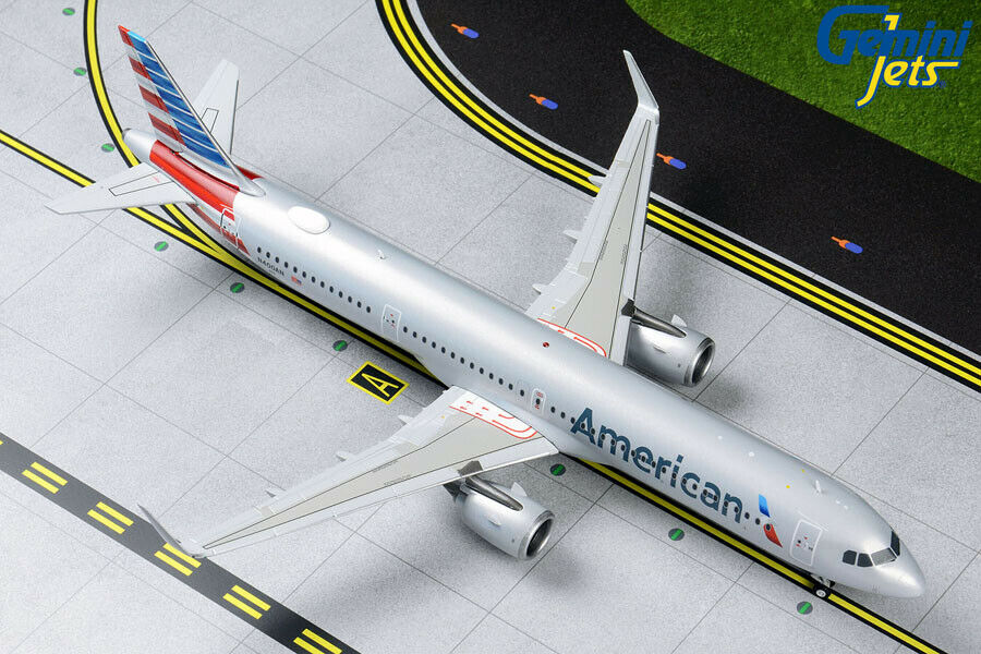 GEMINI JETS JETS AMERICAN AIRLINES AIRBUS A321NEO 1 200 DIE-CAST G2AAL829 IN STOCK