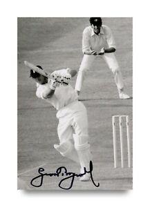 Sir-Geoffrey-Boycott-Signed-6x4-Photo-England-Cricket-Autograph-Memorabilia-COA