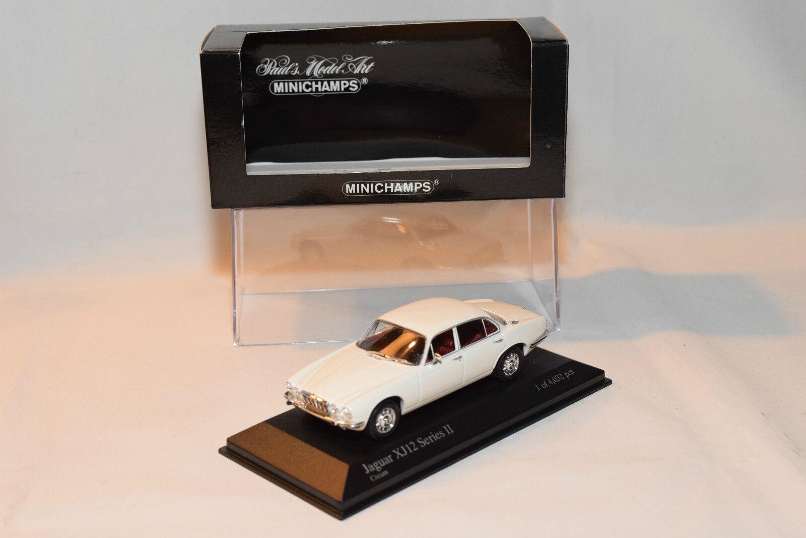 . MINICHAMPS JAGUAR XJ12 XJ 12 SERIES II 1975 CREAM MINT BOXED RARE SELTEN