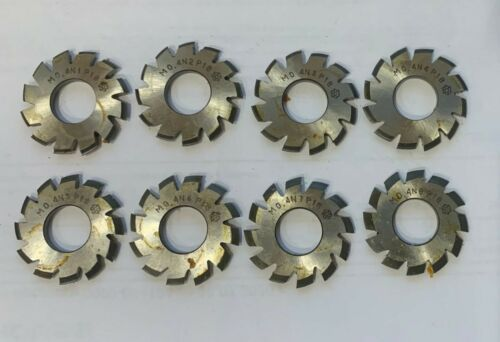 N1 - N8 Involute Gear cutter set m 0.4 pa 20 ° hss module m0,4