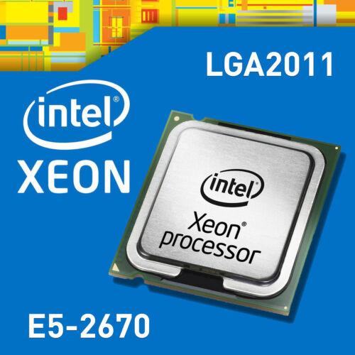 Intel Xeon E5-2670 8 Core 16 Thread Processor 2.60GHz 20MB SR0KX CPU LGA2011