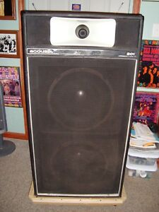Acoustic Control Corporation 201 Speaker Cabinet Used Rare Antique Ebay