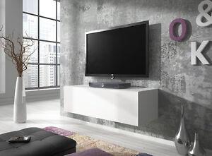 Tv Möbel Schwebend Zur Wandbefestigung Lowboard Schrank Rocco 100 Cm