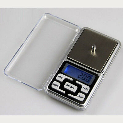 Pocket 200g x 0.01g Digital Scale Jewelry Gold Balance Tools Weight Gram LCD