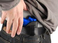 Barsony Black Leather Iwb Gun Holster For Raven, Jennings Mini 22 25 380