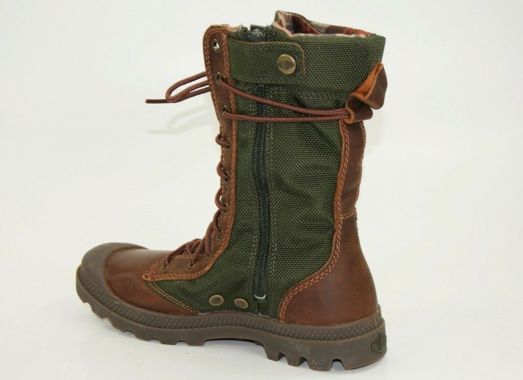 Palladium Boots Pampa Pampa Pampa Tactical Boots Size 36 UK 3,5 Ladies shoes Lace up Boots d12d59