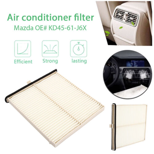 Fit wuw For Mazda 3 14-17 6 13-17 CX-5 12-17 Cabin Air Filter OE# KD45-61-J6X