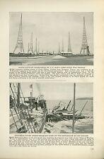 1920 Magazine Article Explosion of State of Washington Boat Columbi River