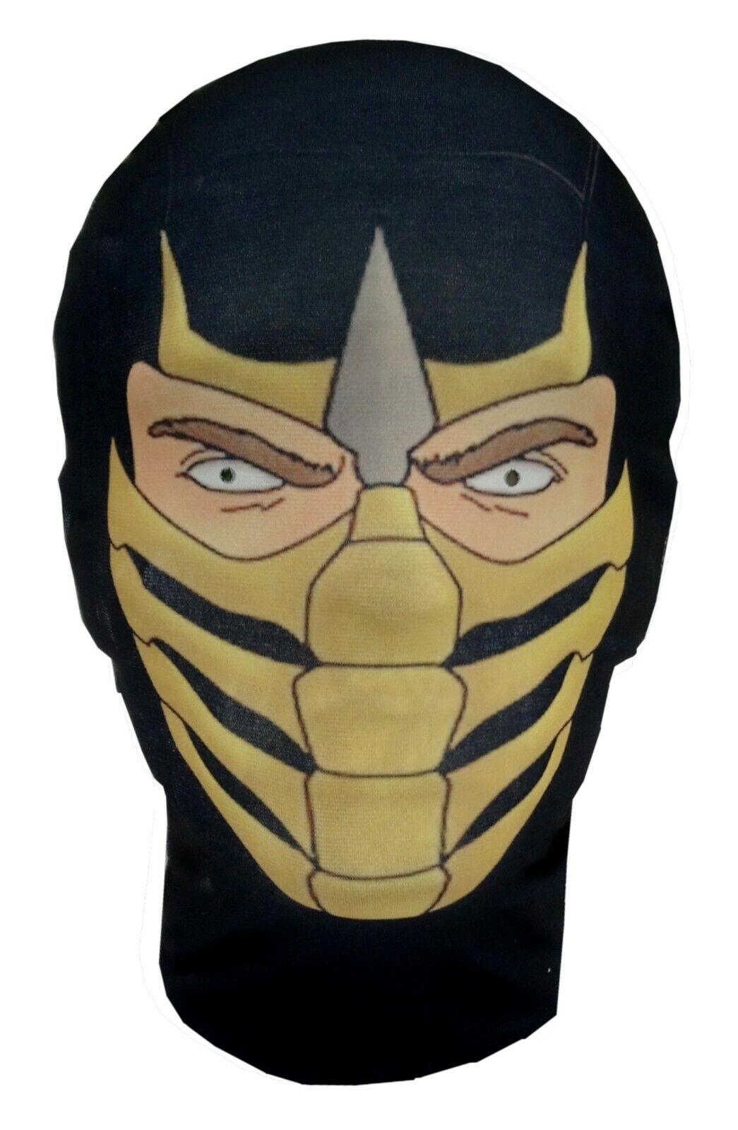 Scorpion Mortal Kombat Parody Costume Fancy Dress Full