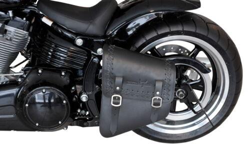 Buffalo Satteltasche 11L Harley Davidson Softail Fat Boy Blackline 1984-2017